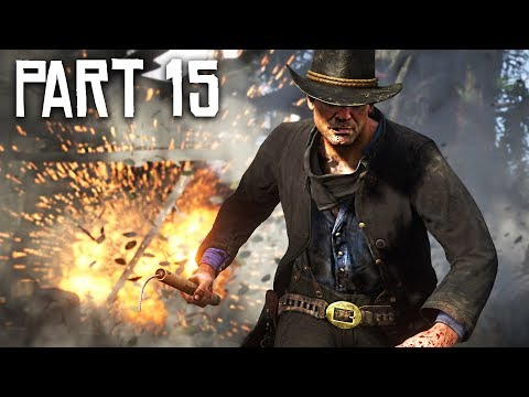 Red Dead Redemption 2 Gameplay Walkthrough, Part 15!! (RDR 2 PS4 Gameplay)