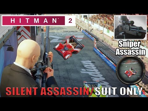 Hitman 2 Miami The Finish Line Sniper Assassin Suit Only Challenge