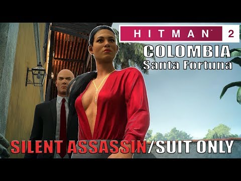 Hitman 2 Colombia Three Headed Serpent Silent Assassin Suit Only