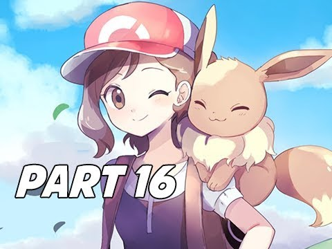 POKEMON LET'S GO PIKACHU & EEVEE Walkthrough Part 16 - Catching Eevee