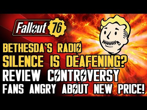 Fallout 76 - Review Controversy! Bethesda's Radio Silence! Fans Angry About Lowered Price...