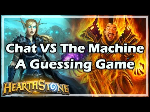 Chat VS The Machine: A Guessing Game