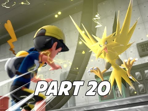 POKEMON LET'S GO PIKACHU & EEVEE Walkthrough Part 20 - ZAPDOS