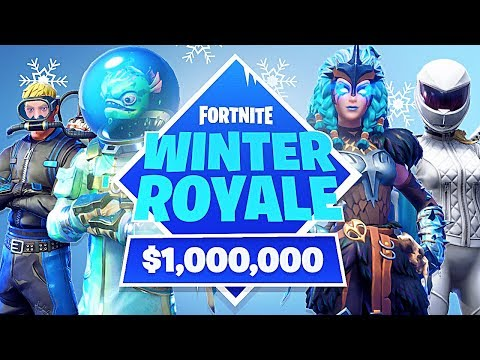 *NEW* Fortnite Winter Royale Game Mode! *Round 4* - $1,000,000 in Prizes! (Fortnite Battle Royale)