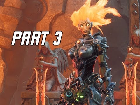DARKSIDERS 3 Walkthrough Gameplay Part 3 - Three Swords (Let's Play Commentary)
