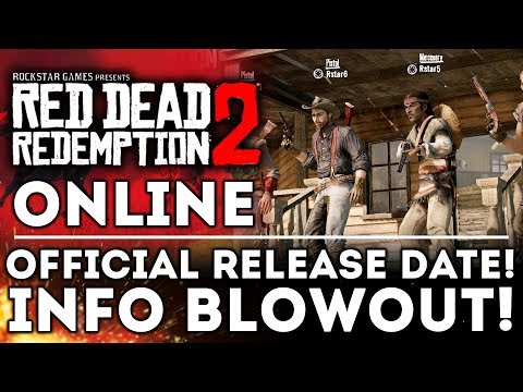 Red Dead Online Beta Release Date REVEALED! NEW INFO! Rockstar Abandons Agent! Red Dead Redemption 2