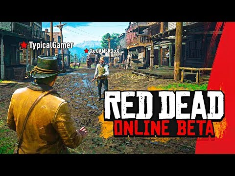 Red Dead Redemption 2 Online BETA Multiplayer Gameplay LIVE!! (Red Dead Online Gameplay)