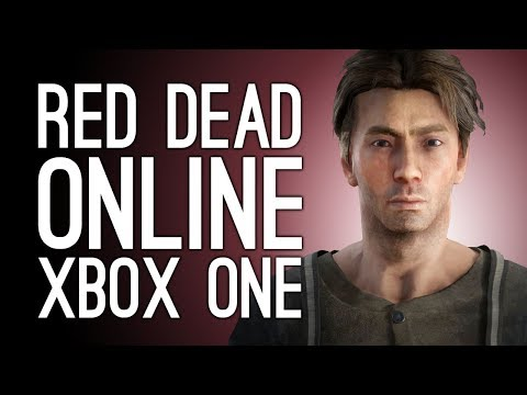 Red Dead Online Gameplay Xbox One: Let's Play Red Dead Online Beta - HI FRIENDS! 🐴