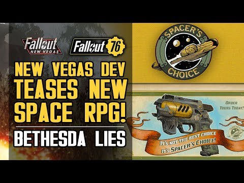 Fallout New Vegas Dev Teases New Game! Bethesda Lies to Consumers About Fallout 76 Edition