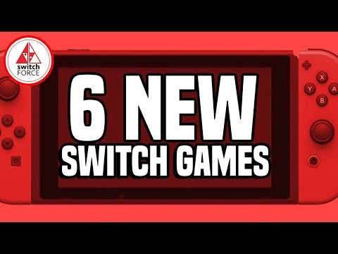 6 PRE-HOLIDAY NEW Switch Games JUST ANNOUNCED! And Lots of Laughs!