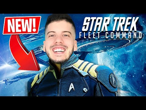 I'M THE COMMANDER!! (Star Trek Fleet Command)