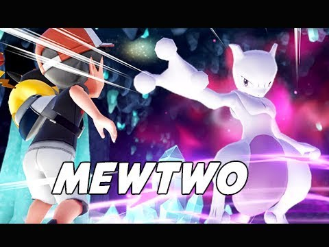 Catching MEWTWO - POKEMON LET'S GO PIKACHU & EEVEE Walkthrough Part 29