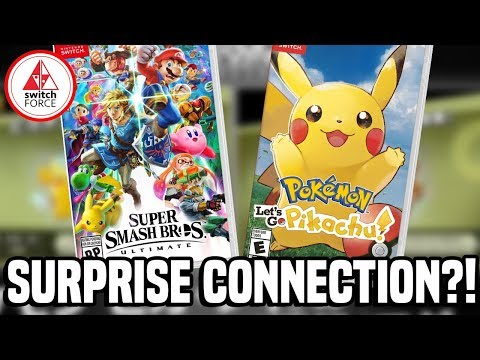 Smash Bros Ultimate Can Connect to Pokemon Let's Go For a Surprise!