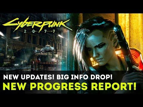 Cyberpunk 2077 - INFO BLOWOUT! New Progress Report! Red Dead Redemption 2 Influences! Gameplay Info!