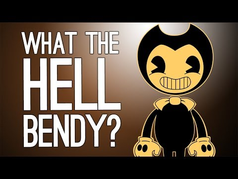 Bendy and the Ink Machine Gameplay: WHAT THE HELL, BENDY? (Let's Play Bendy and the Ink Machine)