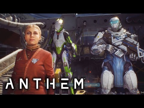 Anthem's New Gameplay is Intriguing - Single Player Walkthrough in an Multiplayer Open World