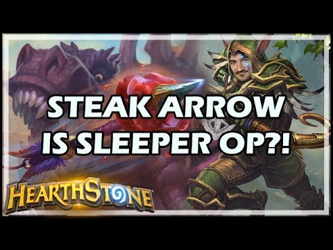 STEAK ARROW IS SLEEPER OP?! - Rastakhan's Rumble Hearthstone