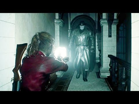 Resident Evil 2 Remake New Gameplay Demo Tyrant Upcoming New