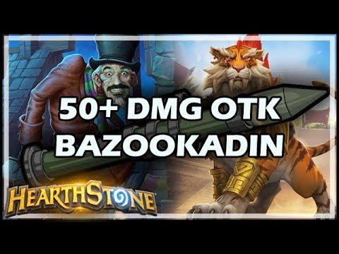 50+ DMG OTK BAZOOKADIN - Rastakhan's Rumble Hearthstone