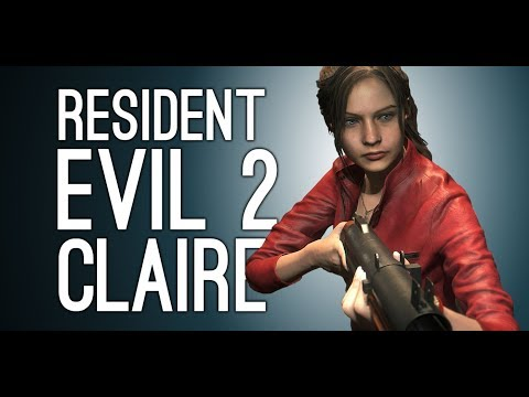 Resident Evil 2 Remake Gameplay: Claire! Lickers! Mr X! - Let's Play Resisdent Evil 2 Remake