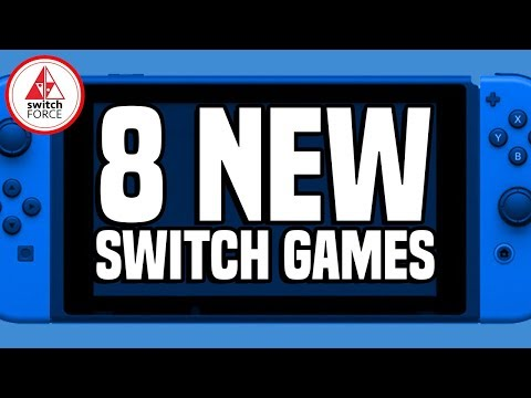 8 SILLY NEW Switch Games JUST ANNOUNCED! PLUS NEW NES ONLINE GAMES