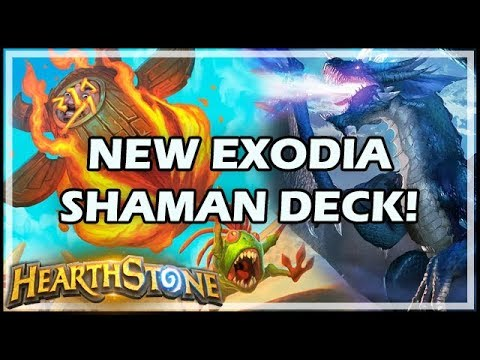 NEW EXODIA SHAMAN DECK! - Rastakhan's Rumble Hearthstone