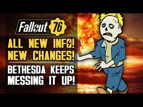 Fallout 76 - NEW UPDATES! New Changes and Bethesda Keeps Messing Up BIG!