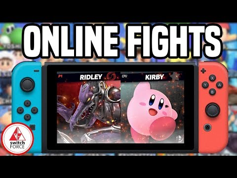 Smash Bros Ultimate ONLINE PLAY - FIRST EVER FIGHTS! (Nintendo Switch Smash Bros Ultimate Gameplay)