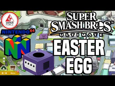 Smash Bros Ultimate Easter Egg - N64, Gamecube, Wii, Gameboy + More In World of Light!