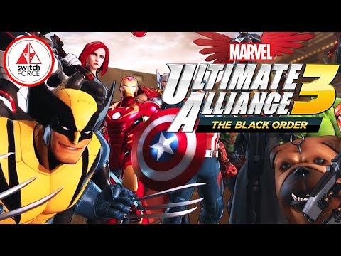 Marvel Ultimate Alliance 3 SWITCH EXCLUSIVE! FIRST GAMEPLAY!