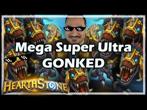Mega Super Ultra GONKED - Rastakhan's Rumble Hearthstone