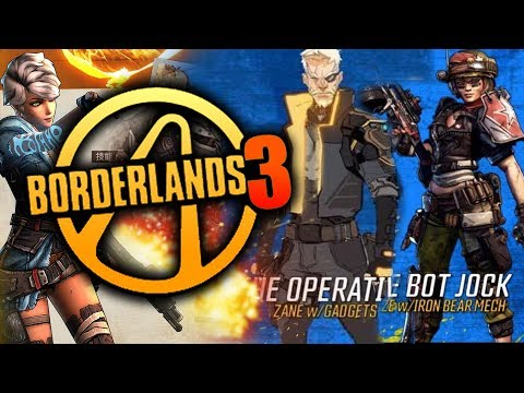 Borderlands 3 - HUGE INFO BLOWOUT! Leaked Characters! Abilities, New World! New Gameplay Info!