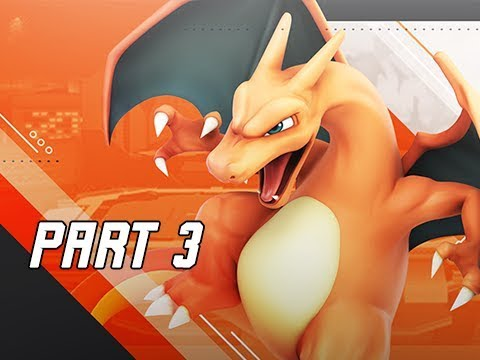 SUPER SMASH BROS ULTIMATE Gameplay Walkthrough Part 3 - Giant Charizard