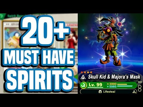 20+ MUST HAVE Spirits In Smash Bros Ultimate