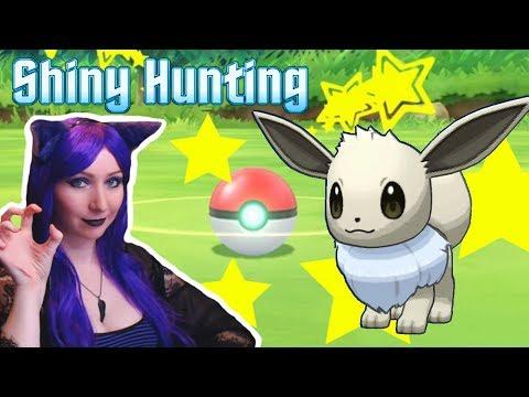 ❤️SHINY EEVEE HUNT!❤️ Let's Go Pikachu / Eevee! SHINY HUNT