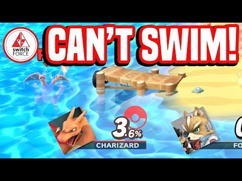THESE Characters CAN'T Swim!! Smash Bros Ultimate on Nintendo Switch