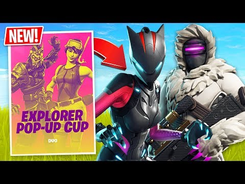 Fortnite Season 7 Duos Explorer Pop-Up Cup! // Pro Scrims // (Fortnite Live Gameplay)