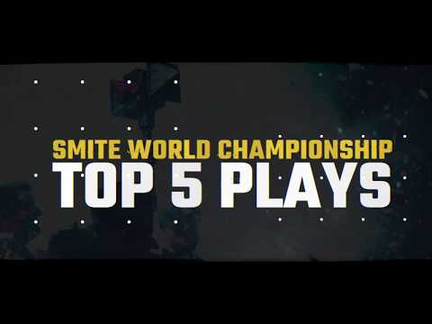 SMITE World Championship 2019 Top 5 Plays