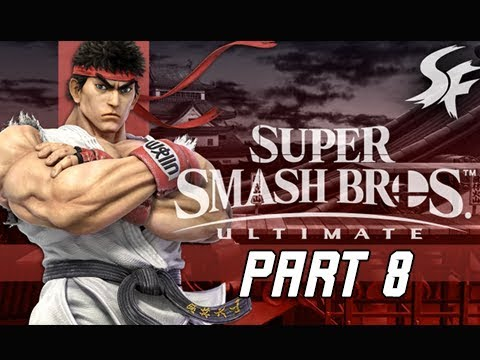 SUPER SMASH BROS ULTIMATE Gameplay Walkthrough Part 8 - RYU