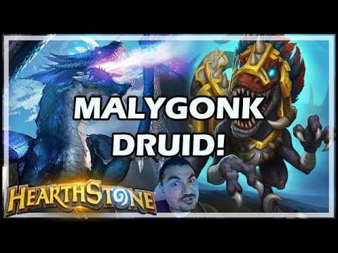 MALYGONK DRUID! - Rastakhan's Rumble Hearthstone
