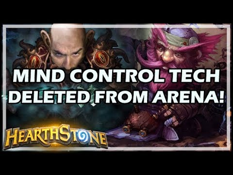 MIND CONTROL TECH DELETED FROM ARENA! - Rastakhan's Rumble Hearthstone