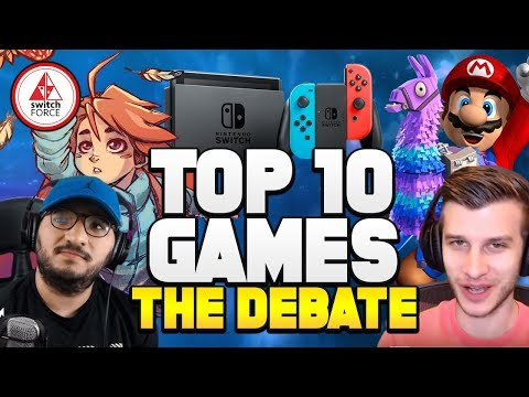 Top 10 Switch Games of 2018! (The Debate)