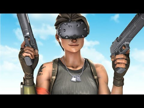 If Fortnite was in VR