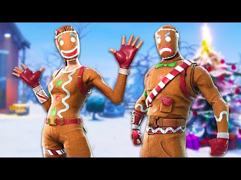 THEY'RE BACK!! Ginger Gunner & Merry Marauder Gingerbread Skins!! (Fortnite Live Gameplay)
