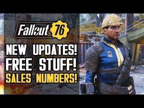 Fallout 76 News - FREE STUFF! Christmas Update, Epic Sky Fort! Sales Numbers and More!