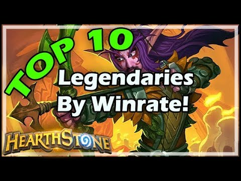 TOP 10 Legendaries By Winrate! - Rastakhan's Rumble Hearthstone