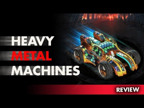 Heavy Metal Machines review    New free MOBA game! [Download link included]
