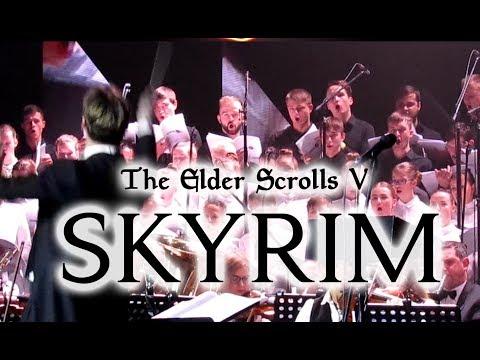 Symphony Orchestra    Skyrim theme live with choir [2018]