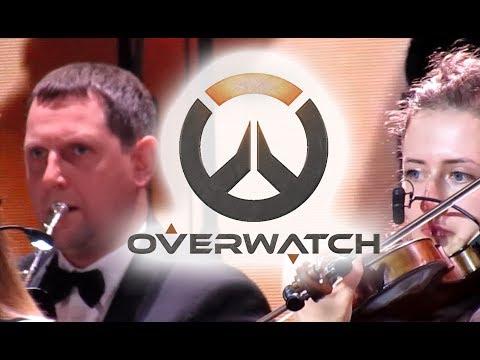Symphony Orchestra    Overwatch soundtrack Theme song live [2018]