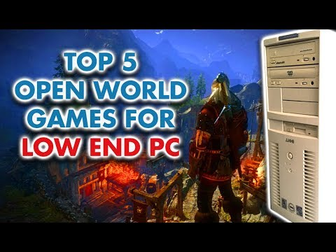 Top 5 Open World Games for Low End PC [under 1GB RAM] 2018